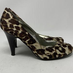 """Style & Co., """"Pamela"""" Leopard  Pumps Size 6M (729)"""
